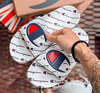 Champion Slides Logo | сланцы мужские и женские (шлепки/шлепанцы)