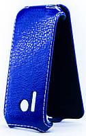 Чехол Status Flip для Nokia 220 Dark Blue
