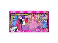 Кукла с нарядами и аксессуарами Defa 8193