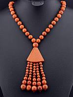 030039 Бусы Золотой Песок 63 см.