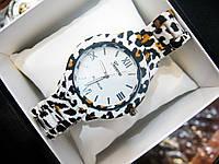 Женские кварцевые наручные часы Geneva Mini, Leopard, фото 1