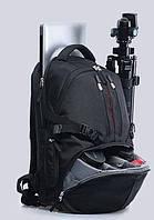 """Большой фоторюкзак 15,6"""" дождевик в черном цвете Надежный универсальный практичный рюкзак Розница Код: КДН5231"""