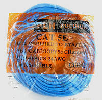 Витая пара Патч Корд 30м UTP CAT5E ( 4х2x0.51,CCA) ВНУТРЕННИЙ