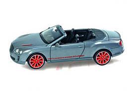 """Машина """"Bentley Continental Supersports ISR"""" из серии """"Автопром"""" (серая) 68259A"""