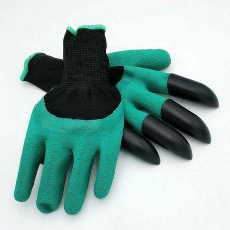 Многофункциональные садовые перчатки с когтями  GARDEN GLOVE