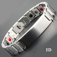 Магнитный браслет для гравировки ID