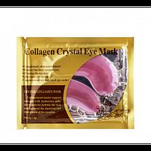 Патчи для области вокруг глаз с коллагеном розовые Collagen Crystal Eye Mask, 1 пара