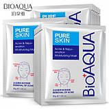 Тканевая маска для лица очищающая Анти Акне BIOAQUA Pure Skin, 1шт, фото 4