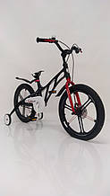 Легкий  Велосипед 18-MERCURY Магниевая рама Черный