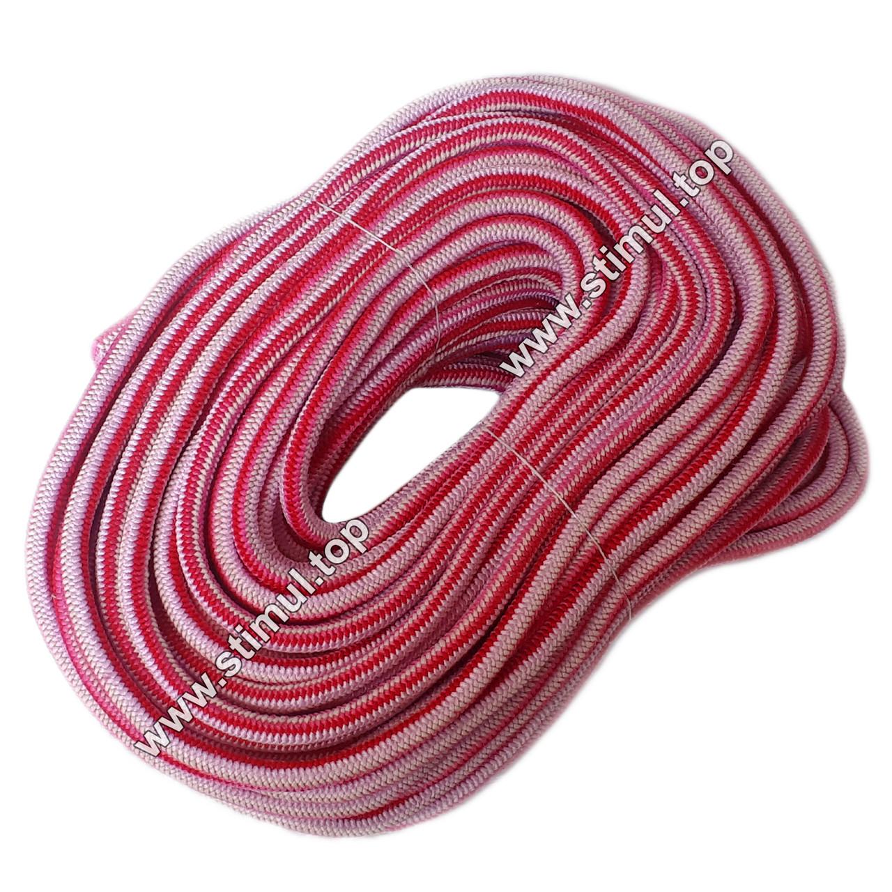 ГИПЕР ЭЛАСТИЧНЫЙ шнур-резинка 7 мм х 40 метров / Стретч корд / Гиперэластичный резиновый трос в оболочке