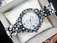 Женские кварцевые наручные часы Geneva Mini, Skull, фото 1