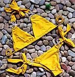 Женский Купальник желтый, фото 5