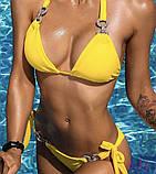 Женский Купальник желтый, фото 2
