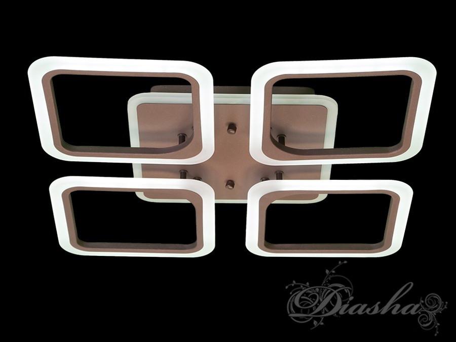 Современная светодиодная люстра A8060/4CF LED 3color dimmer