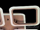 Современная светодиодная люстра A8060/4CF LED 3color dimmer, фото 2