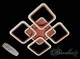 Современная светодиодная люстра A8060/4CF LED 3color dimmer, фото 4