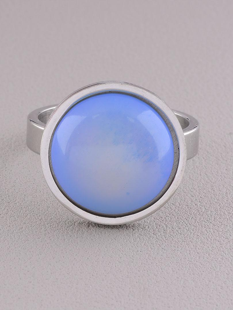 062669-220 Кольцо 'Stainless Steel' Лунный камень