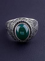 029507-190 Кольцо Хризопраз (Серебро), фото 1