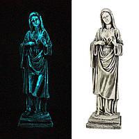 Статуэтка гипсовая, светящаяся Дева Мария 38 см СП509-4 св