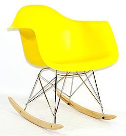 Кресло-качалка Leon, желтый