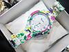 Женские кварцевые наручные часы Geneva Mini, Flowers