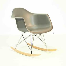 Кресло-качалка Leon, темно-серый