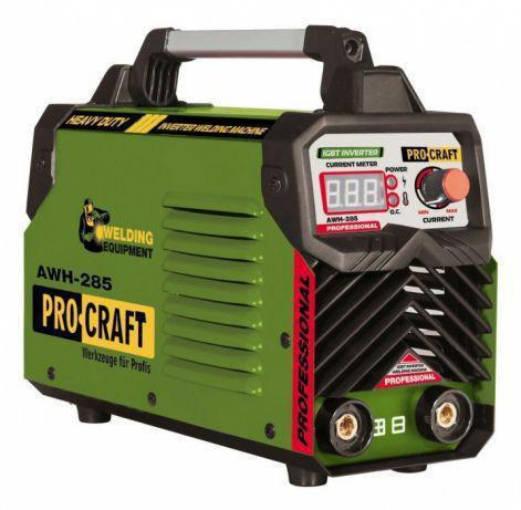 Инверторный cварочный аппарат Procraft AWH-285