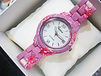 Женские кварцевые наручные часы Geneva Mini, Flowers, фото 1