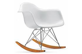 Кресло-качалка Leon, белое