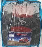 Авточехлы Daewoo Matiz HB 1998- (тёмно-серый) Nika, фото 4