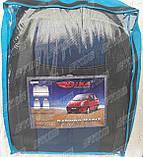 Авточехлы Daewoo Matiz HB 1998- (тёмно-серый) Nika, фото 5