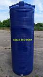 Емкость 1000 литров узкая (вертикальная).., фото 2
