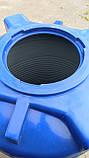 Емкость 1000 литров узкая (вертикальная).., фото 4