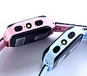 Детские Умные часы с GPS Q528 розовые, фото 5