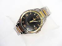 Мужские кварцевые наручные часы Omega, Black, фото 1