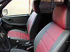 Чехлы на сиденья Фольксваген Гольф 2 (Volkswagen Golf 2) (универсальные, экокожа, отдельный подголовник), фото 7