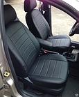 Чехлы на сиденья Фольксваген Гольф 2 (Volkswagen Golf 2) (универсальные, экокожа, отдельный подголовник), фото 10