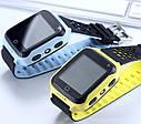 Детские Умные часы с GPS Q528 желтые, фото 5