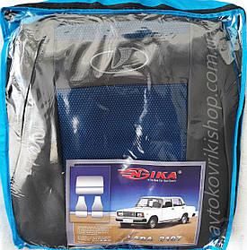 Авто чехлы Lada 2107 (синий) COPER Nika