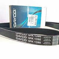 Ремінь гур і кондиціонера 5pk1390 chery tiggo/ eastar 2.4 L (4G64) (Dayco), фото 1