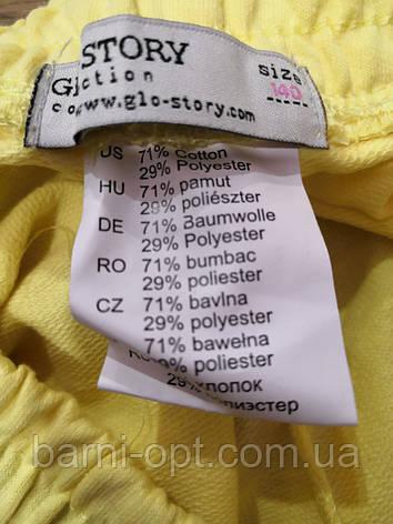 Трикотажні шорти для дівчаток оптом, Glo-story, 110-160 рр., фото 2
