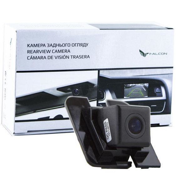 Штатная камера заднего вида Falcon SC54-SCCD. Mercedes Benz S-Class