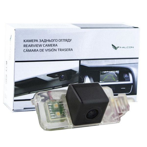 Штатная камера заднего вида Falcon SC64-SCCD. Dodge 2011 Caliber