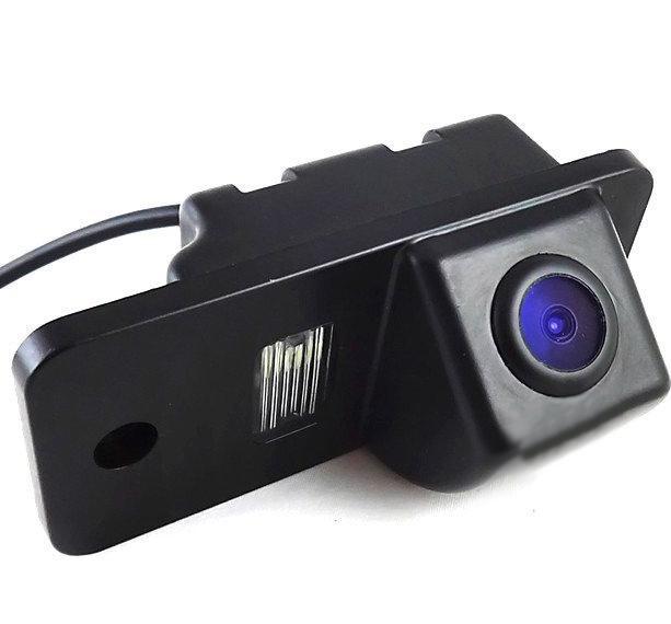 Штатная камера заднего вида Falcon SC68-SCCD. Audi A6 2012