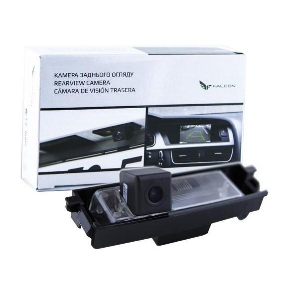 Штатная камера заднего вида Falcon SC73-SCCD. Chery Tiggo, A3