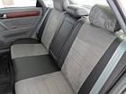 Чехлы на сиденья Тойота Авенсис (Toyota Avensis) (модельные, экокожа Аригон+Алькантара, отдельный подголовник), фото 3