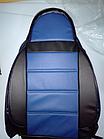 Чехлы на сиденья Тойота Авенсис (Toyota Avensis) (универсальные, кожзам, пилот), фото 3