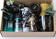 Подарочный  мужской набор.Коробка, подарок для парня, мужа, друга,шефа.