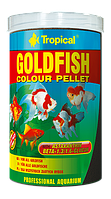Сухой корм Tropical Goldfish Color pellet для карповых 60474, 250ml /90g