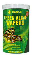 Сухой корм Tropical Green algae wafers для донной рыбы 66424, 250ml /113g